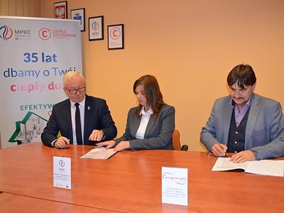 Podpisanie umowy na modernizację kotła K3 pomiędzy MPEC Przemyśl Sp. z o.o. a Energoserwis S.A.