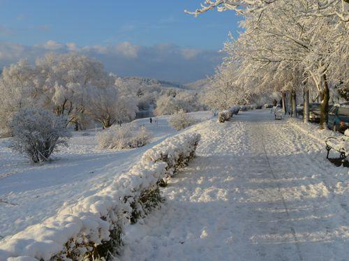Zima w Przemyślu